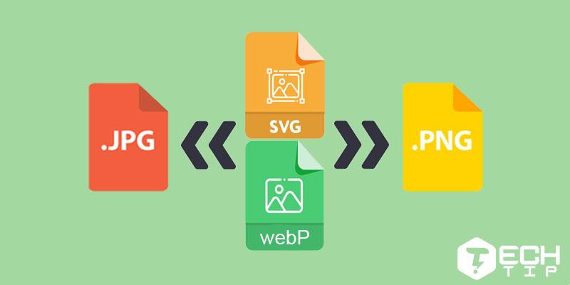 بیاموزید که چگونه با چند روش عملی عکس ها را در قالب WebP و SVG به JPG و PNG تبدیل کنید
