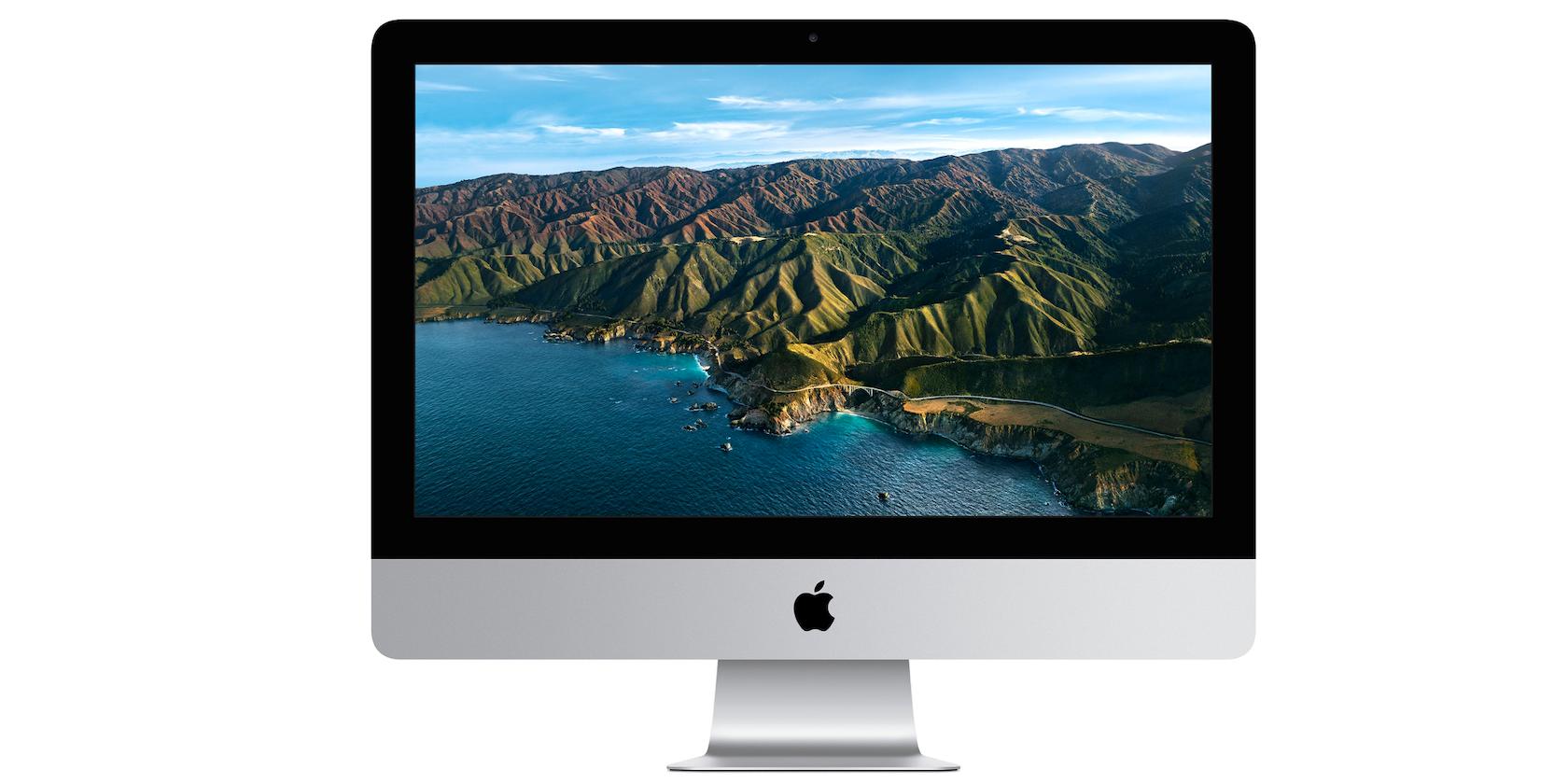 اپل فروش 512 گیگابایت و 1 ترابایت SSD 21.5 اینچی iMac را متوقف می کند